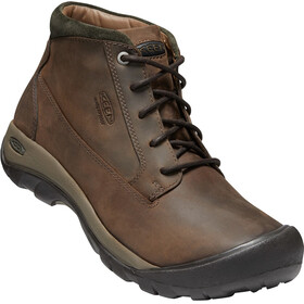 Keen M's Austin Casual WP Boots choco brown/bla